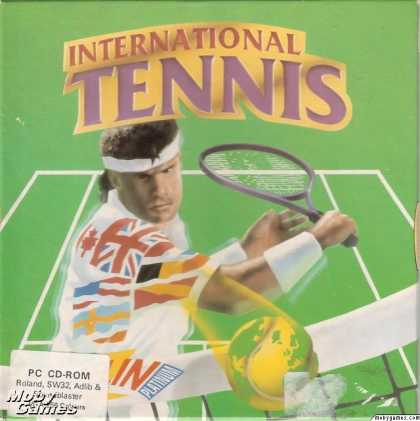 DOS Games - International Tennis
