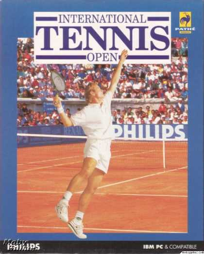 DOS Games - International Tennis Open