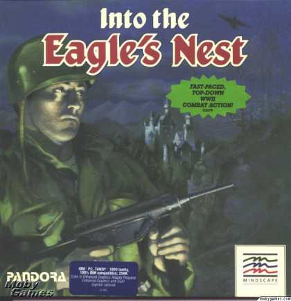 DOS Games - Into the Eagle's Nest