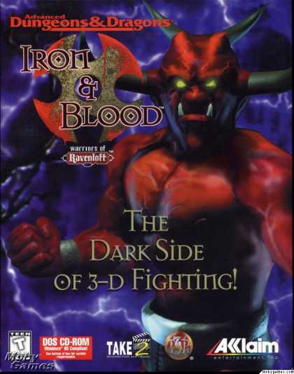 DOS Games - Iron & Blood: Warriors of Ravenloft