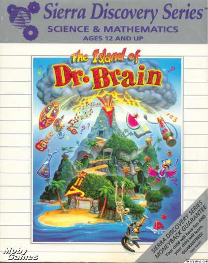 DOS Games - The Island of Dr. Brain