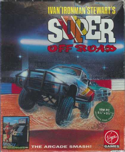 "DOS Games - Ivan ""Iron Man"" Stewart's Super Off Road"