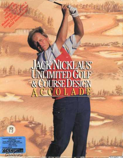 DOS Games - Jack Nicklaus' Unlimited Golf & Course Design