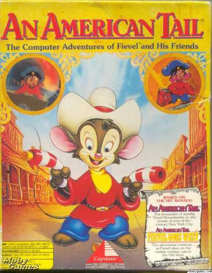 DOS Games - An American Tail: Fievel Goes West