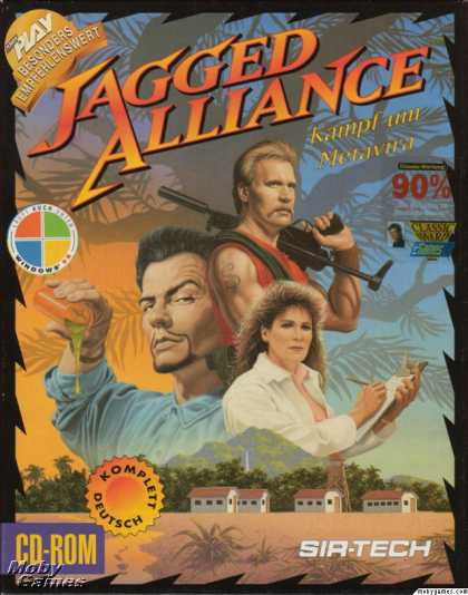 DOS Games - Jagged Alliance