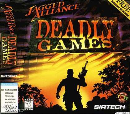 DOS Games - Jagged Alliance: Deadly Games