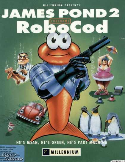 DOS Games - James Pond 2: Codename: RoboCod