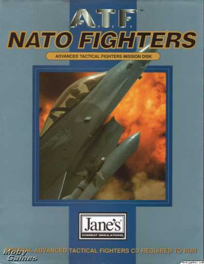 DOS Games - Jane's Combat Simulations: Advanced Tactical Fighters - Nato Fighters