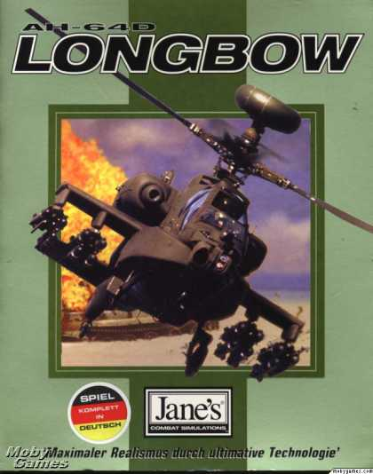 DOS Games - Jane's Combat Simulations: AH-64D Longbow