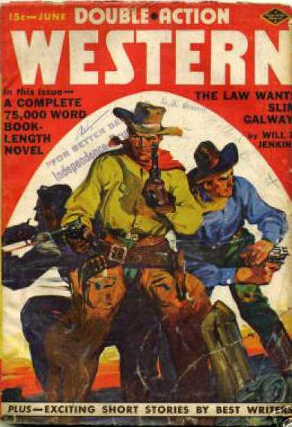 Double-Action Western - 6/1939