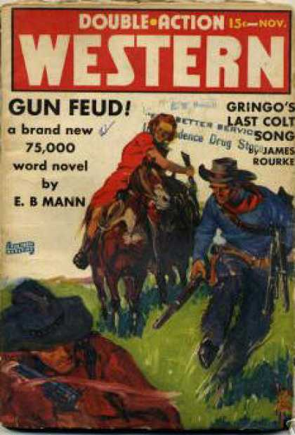 Double-Action Western - 11/1939