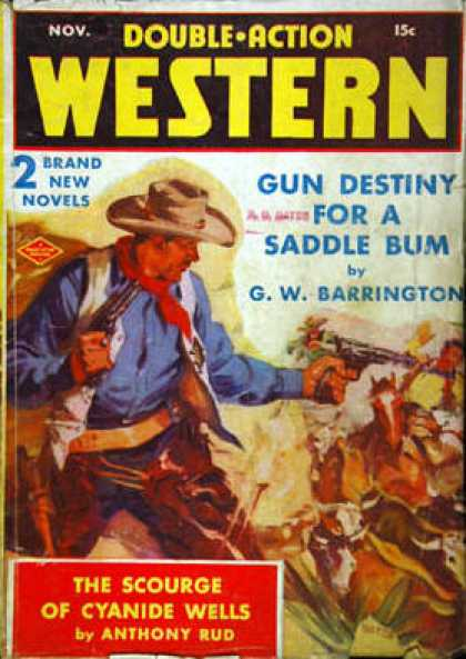 Double-Action Western - 11/1940
