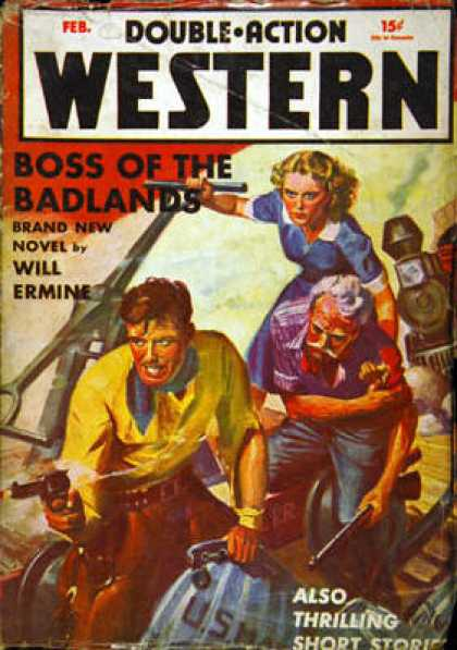 Double-Action Western - 2/1941