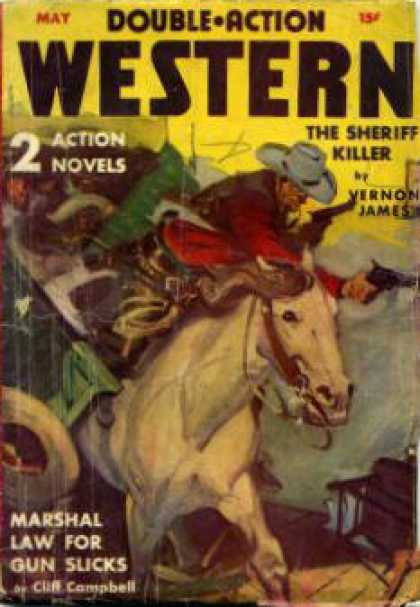 Double-Action Western - 5/1941
