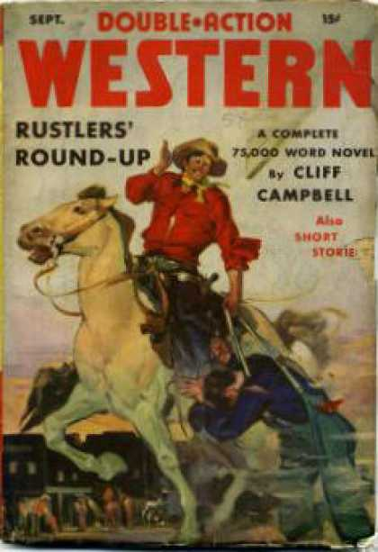 Double-Action Western - 9/1941