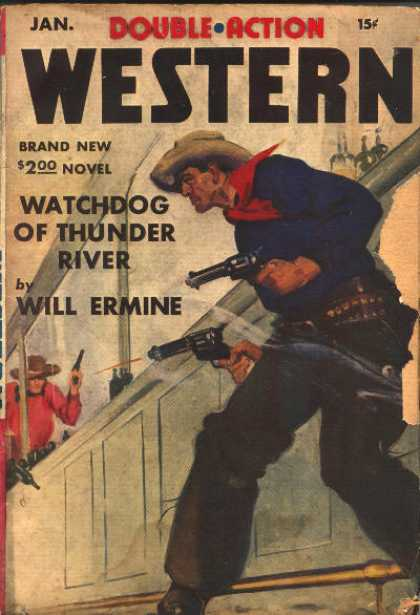 Double-Action Western - 1/1942