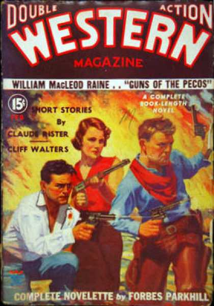 Double-Action Western - 2/1935