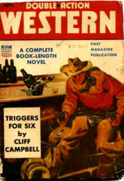 Double-Action Western - 9/1942