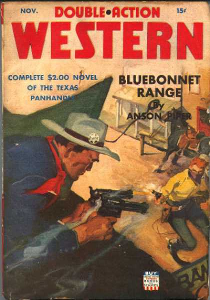 Double-Action Western - 11/1942