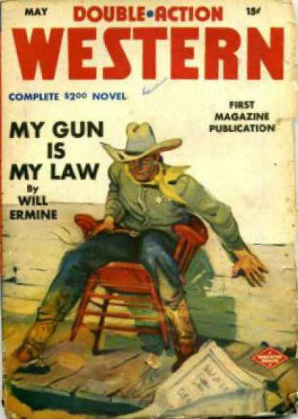 Double-Action Western - 5/1943