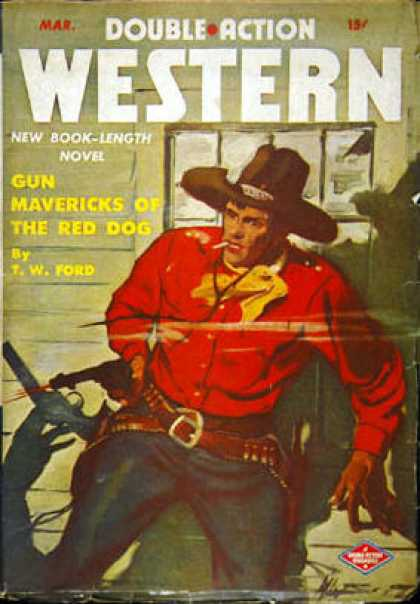 Double-Action Western - 3/1944