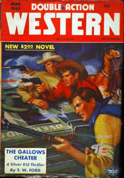 Double-Action Western - 3/1945