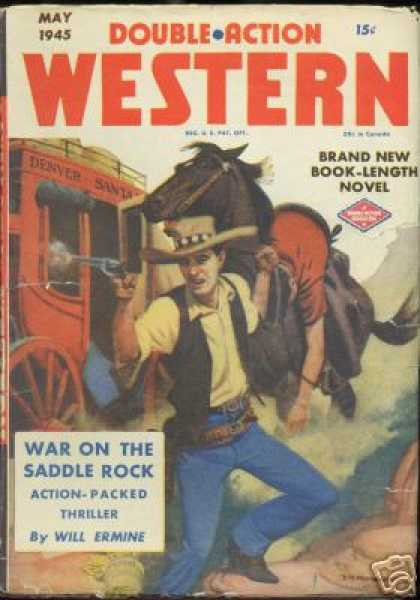 Double-Action Western - 5/1945
