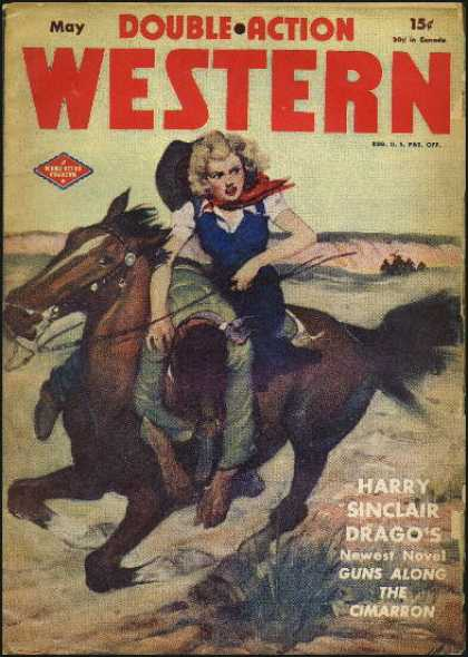 Double-Action Western - 5/1946