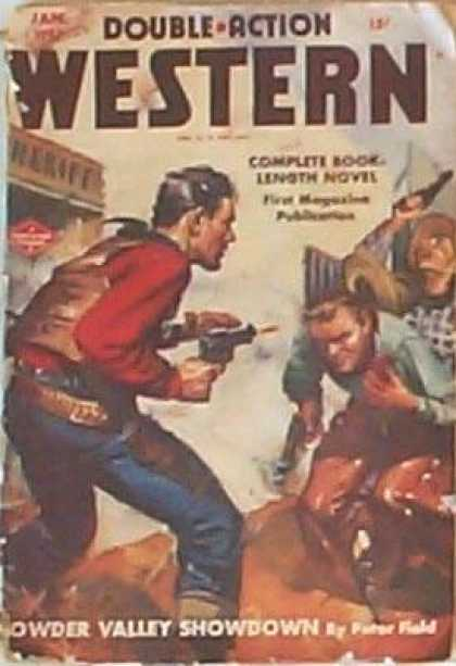 Double-Action Western - 1/1947