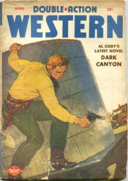 Double-Action Western - 4/1947