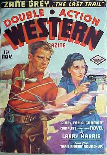 Double-Action Western - 11/1936