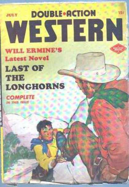 Double-Action Western - 7/1948