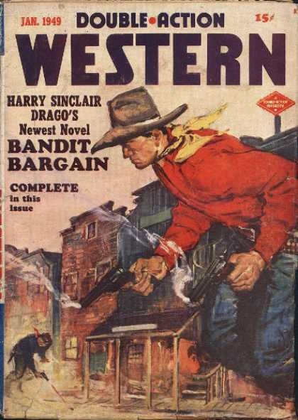 Double-Action Western - 1/1949
