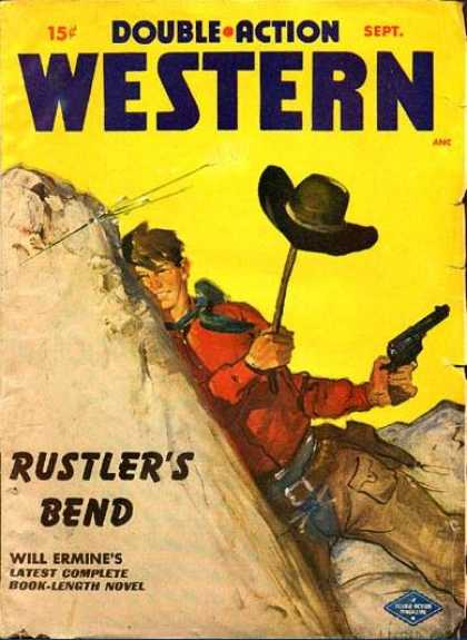 Double-Action Western - 9/1949
