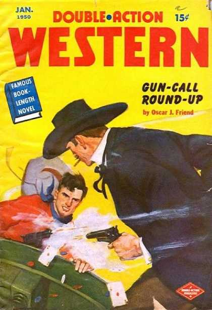 Double-Action Western - 1/1950