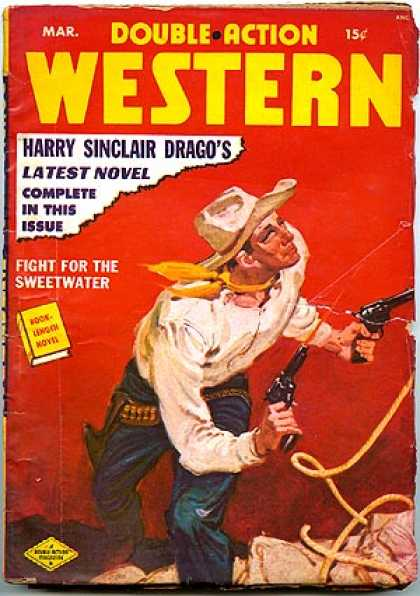 Double-Action Western - 3/1950