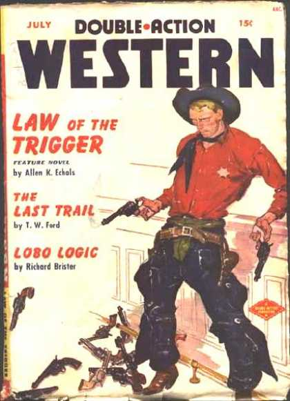 Double-Action Western - 7/1950