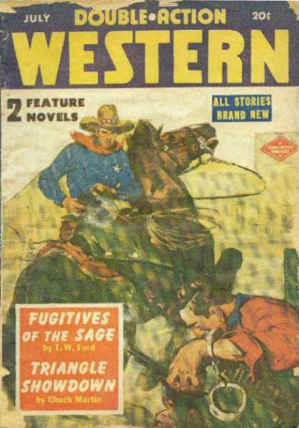 Double-Action Western - 7/1951