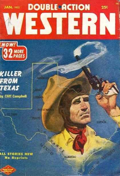 Double-Action Western - 1/1953