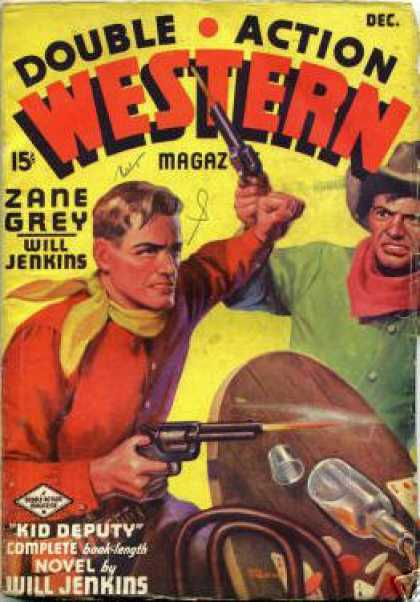 Double-Action Western - 12/1936
