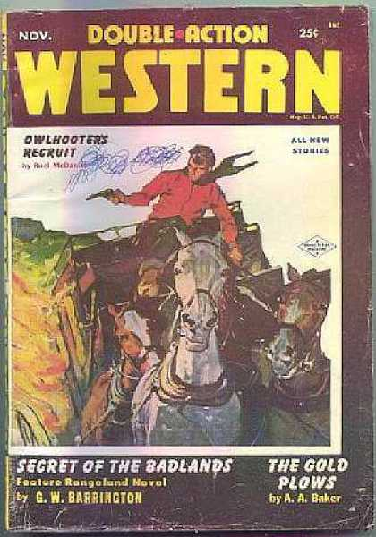 Double-Action Western - 11/1954