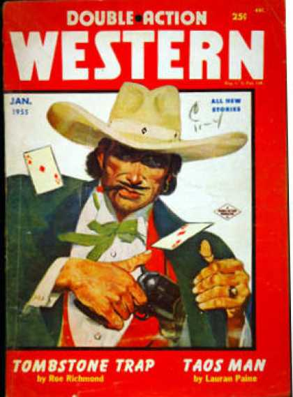 Double-Action Western - 1/1955