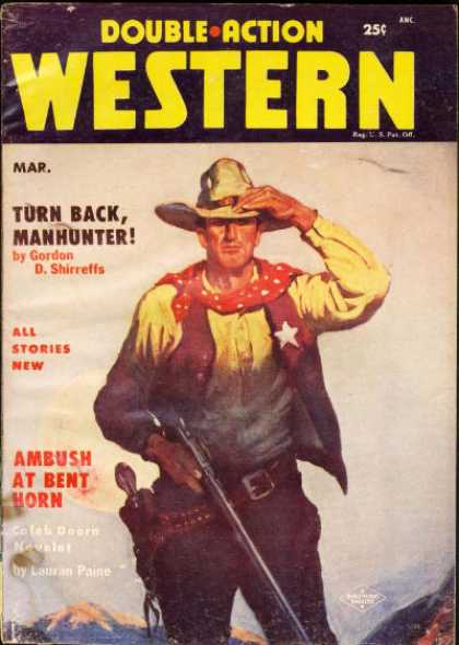 Double-Action Western - 3/1955