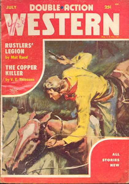 Double-Action Western - 7/1955