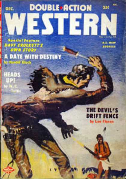 Double-Action Western - 12/1955