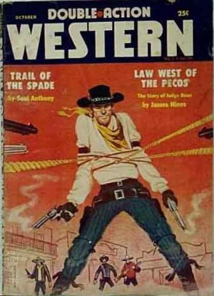 Double-Action Western - 10/1956