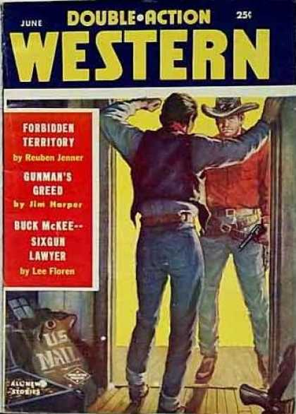 Double-Action Western - 6/1957