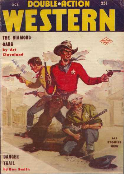 Double-Action Western - 10/1957