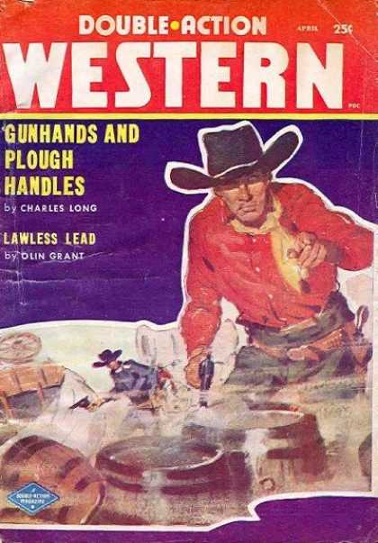 Double-Action Western - 4/1958