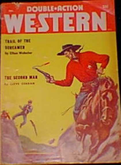Double-Action Western - 12/1958